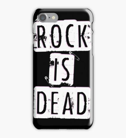ROCK IS DEAD! iPhone Case/Skin