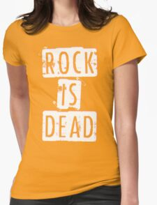 ROCK IS DEAD! Womens Fitted T-Shirt