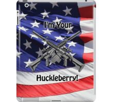 American Flag with Guns iPad Case/Skin