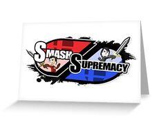 Smash Supremacy Logo Greeting Card