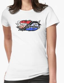 Smash Supremacy Logo Womens Fitted T-Shirt