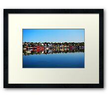 Lunenburg - Nova Scotia Framed Print