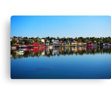 Lunenburg - Nova Scotia Canvas Print