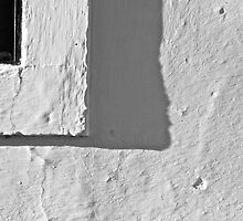 Whitewashed wall by Rafael López