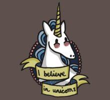 I Believe in Unicorns Baby Tee