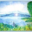 View of Lake Constance  by ©The Creative  Minds