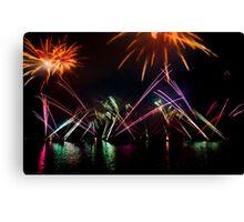 Fireworks 27 Canvas Print