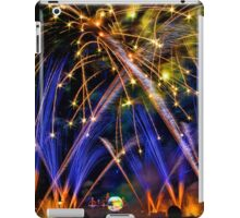 Big Blue Illuminations Fireworks at Epcot iPad Case/Skin