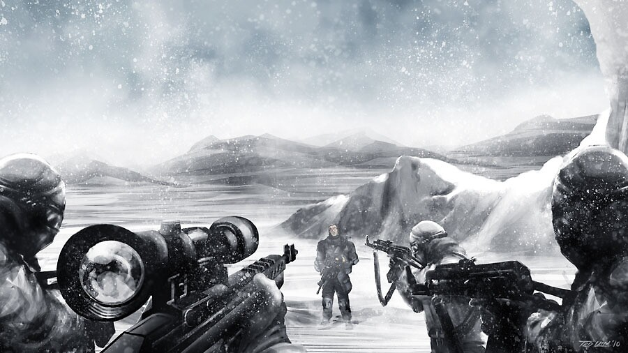 Whiteout by Ted Kim