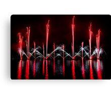 fireworks 29 Canvas Print