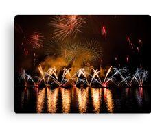 Fireworks 30 Canvas Print