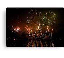 Fireworks 31 Canvas Print