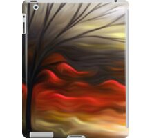 Abstract Trees Oil Painting #8 iPad Case/Skin