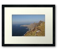 Achill Cliffs Framed Print