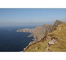 Achill Cliffs Photographic Print