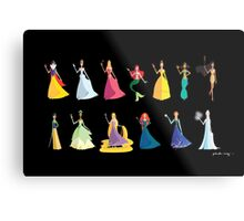 Origami - The Princesses Metal Print