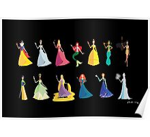 Origami - The Princesses Poster