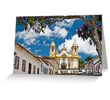 Tiradentes, Minas Gerais, Brasil Greeting Card