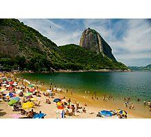 Praia Vermelho, Rio de Janeiro Photographic Print