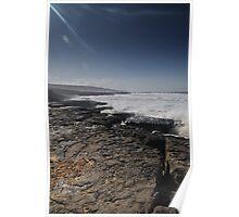 Burren shore Poster