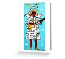 Sister Rosetta Tharpe Gospel Folk Art Greeting Card