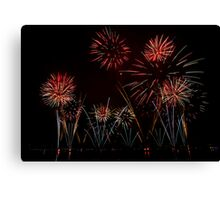 Fireworks 34 Canvas Print
