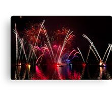 Fireworks 35 Canvas Print