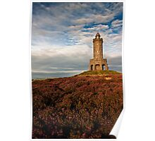 Darwen Tower in late summer Poster