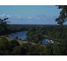 River Thames View Photographic Print