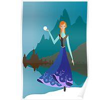Origami - Princess Anna Poster