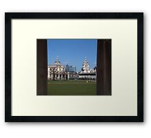 Greenwich & the City Framed Print