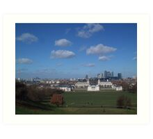 View from Greenwich Observatory Art Print