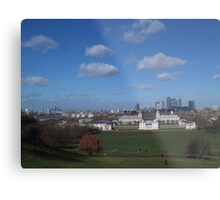 View from Greenwich Observatory Metal Print