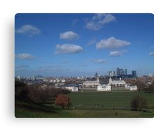 View from Greenwich Observatory Canvas Print