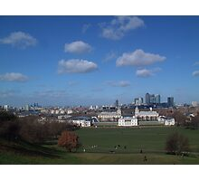 View from Greenwich Observatory Photographic Print