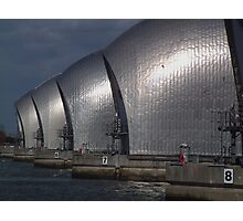 the Thames Barrier Photographic Print