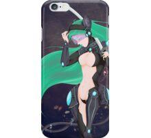 Space warrior iPhone Case/Skin