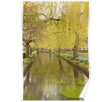 Abbey Gardens, Winchester Poster