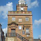 Dumfries Clock Tower, Scotland by sarnia2