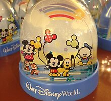 Walt Disney World Snow Globe by abuehrle