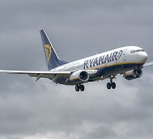 Ryanair Boeing 737 by Pirate77