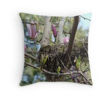 Prepared For New Life Throw Pillow