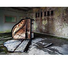 Dead Piano Photographic Print