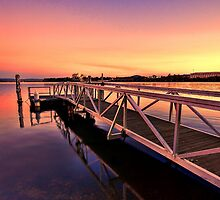 The Sunset Jetty by aureecejustin