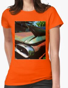Cadillac Fin Womens Fitted T-Shirt