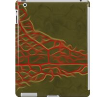 Abstract Leaf Oil Painting #5 iPad Case/Skin