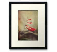 The Side of Me You Didn't Know Framed Print
