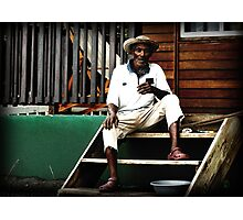 faces of dominica  Photographic Print