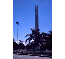 War Memorial,  Singapore Photographic Print