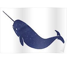 Narwhal - Stars Poster